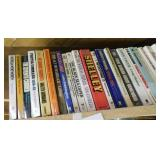 Shelf of misc. books/novels, approx. 100, various