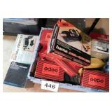 Photography supplies: boxes of Gepe film slide