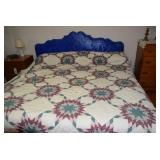 King Size Bed, quilt