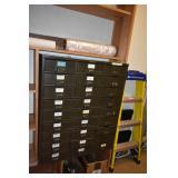 Metal Card Cabinet