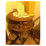 TWO TIERED TABLE