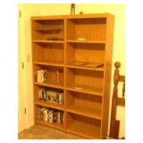 TWO MATCHING 6FT. BOOKCASES W/CONTENTS