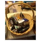 BASKET AND MISC. CONTENTS