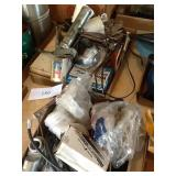 GREASE GUN AND MISC. ITEMS