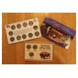 $5 Moon Coin plus Buffalo and Wartime Nickel Coins
