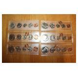 1961, Three 1988, 1989, 1990 Coin Sets