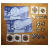 Dollar Coins and Uncirculated Susan B. Anthony