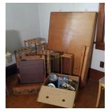 Wall Mount Table, Plant Stand, Wooden Boxes, More