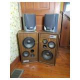 Two Pair of Speakers