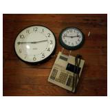 Standard School Wall Clock, Calculator, and More