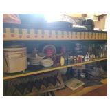 Salt & Pepper Shakers, Glassware, Crock Pot, More