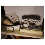 Necchi Sewing Machine and Sewing Notions