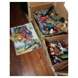 Super Hero Figurines, Books, and More