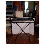 Casio CT-700 Keyboard and Stand