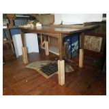 Wooden Table with Leaf