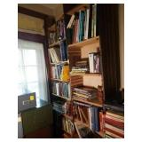 Books, Book Shelves, and More