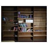Contents of Bookshelves