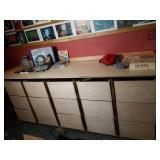 Homemade Drawer Organizer Cabinet
