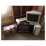 Dell Computer, GE TV, VHS Tapes, and More