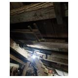 Contents in Rafters of First Floor