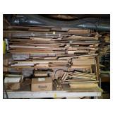 Picking Rights of Wood on Left Side of Workshop