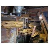 Picking Rights of Wood on Right Side of Workshop