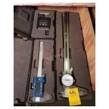 """12"""" Dial Calipers with Case and More"""