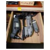 Angle Drill, Profile Sander, and Rotary Tool