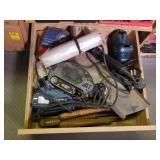 Drill Bit Sharpeners, Sander, Staple Gun, and More
