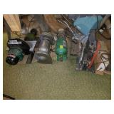 Assortment of Sanders and Grinders