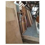 Assortment of Wood Boards and Panels