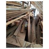 Assortment of Wood Planks, Boards, and Panels
