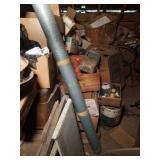 Items in Back Corner of 3rd Floor & 1st Shelf Unit