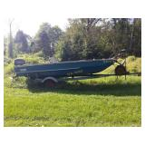 Pisces Boat and Trailer
