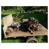 Trailer, Engine, Rusty Metal, and More