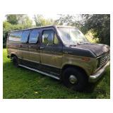 1987 Ford Club Wagon XLT Van