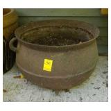 Cast Iron Pot with Feet and Handles