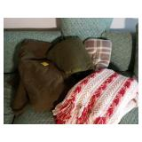 Three Wool Army Blankets and More
