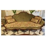 Smithwood Upholstered Couch With Wood Frame
