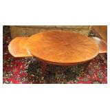 Rolling Coffee Table With Pull Out Leaves