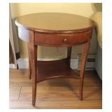 Lane Round Wooden Side Tables
