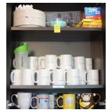 Mugs, Paper Products, Plastic Wrap, and More