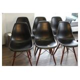 Six Modern Chairs