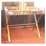 Mirror Tray Accent Table