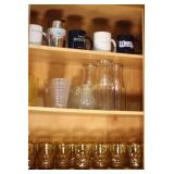 Cabinet of Amber Glasses and More