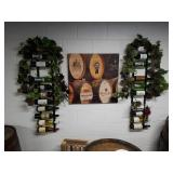 Print on Wood, Wine Bottle Displays, and More