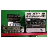 6 Assorted CB Radios