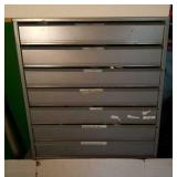 Metal Parts Drawer Filled with Parts