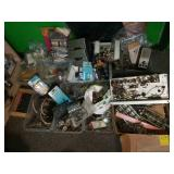 Assorted Radio Parts and Components