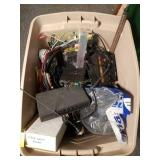 Assorted Radio Components and Parts